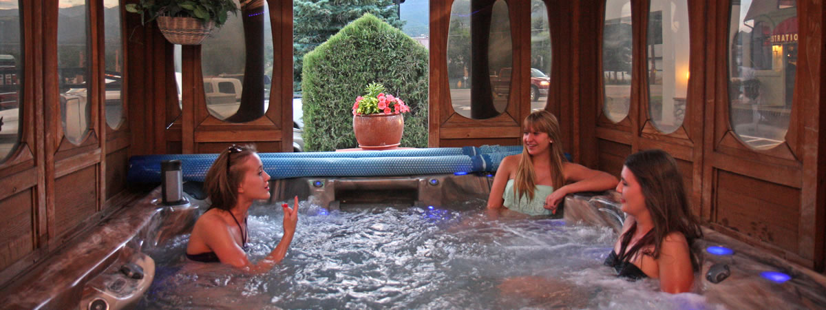 Salida Gateway Inn Hot Tub